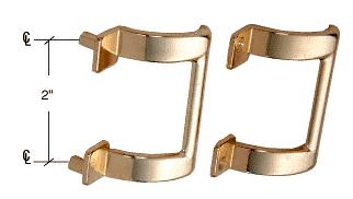 "CRL Brass 2"" Shower Door Pull Handle CRL M6159"