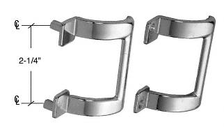 """CRL Chrome 2-1/4"""" Shower Door Pull Handle CRL M6160"""