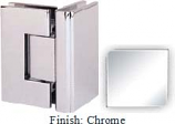 Chrome Masis 783 Series Heavy Duty with Square Edges 90 Degree Glass-To-Glass Hinge - MA783D_CR