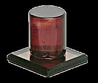 CRL Bronze Acrylic Stick-On Mirror Knob CRL MKB2