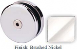 Brushed Nickel Mush 662AR Series Seam Clip 2 inch Round (Contemporary Design Round) - MU662AR_BN