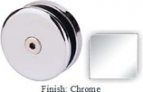 Chrome Mush 662AR Series Seam Clip 2 inch Round (Contemporary Design Round) - MU662AR_CR