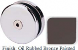 Oil Rubbed Bronze Painted Mush 662AR Series Seam Clip 2 inch Round (Contemporary Design Round) - MU662AR_ORB