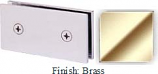Brass Mush 662B Series Joint Clip 2 inch x 4 inch (Traditional Design Square Corners) - MU662B_BR
