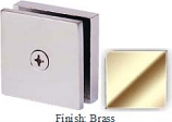 Brass Mush 662E Series 2 inch Square Seam Clip 2 inch x 2 inch (Traditional Design Square Corners) - MU662E_BR