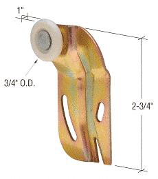 """CRL 3/4"""" Nylon Front Wardrobe Roller for Cox CRL N6508"""