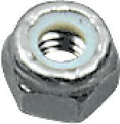 "CRL Zinc 3/8""-16 Thread Nylock Hex Nut CRL NLN3816Z"
