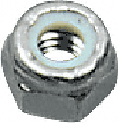 "CRL Stainless 3/8""-16 Thread Nylock Hex Nut CRL NLN3816S"