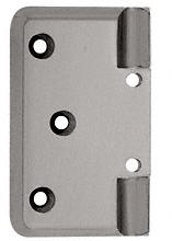CRL Brushed Nickel Pinnacle Series Wall Mount Offset Back Plate CRL P044BN
