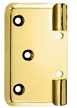 CRL Brass Pinnacle Series Wall Mount Offset Back Plate CRL P044BR