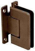 Pinnacle 337 Series Oil Rubbed Bronze Adjustable Wall Mount Full Back Plate Hinge - CRL P1N337ORB