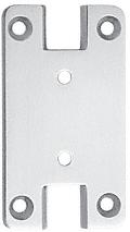 CRL Satin Chrome Pinnacle Series Wall Mount Full Back Plate CRL P3SC