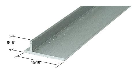 "CRL Aluminum 96"" Sliding Screen Door Rail CRL PLD1660"