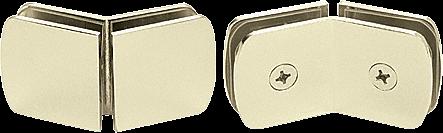 CRL Brass Roman Style 135 Degree Glass Clamp CRL R0M135BR