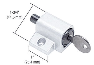 White Keyed Mitey-Lock - CRL S4360