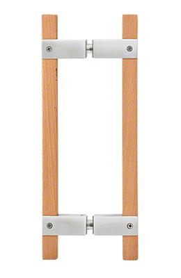 """CRL Polished Stainless 10"""" BM Series Sauna Back-to-Back Pull Handle CRL SA6X6PS"""