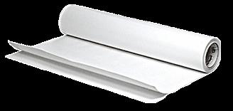 "CRL 4 Mil 6"" Wide White Sandblast Tape - 60' Roll CRL SB13006"