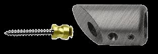 CRL Antique Brushed Nickel Mitered Support Bar Bracket CRL SBB45ABN