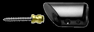 CRL Black Mitered Support Bar Bracket CRL SBB45BL