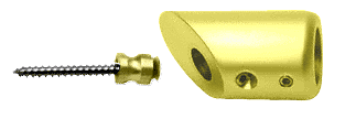 CRL Gold Plated Mitered Support Bar Bracket CRL SBB45GP