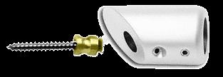 CRL White Mitered Support Bar Bracket CRL SBB45W