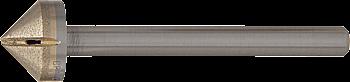 "CRL Amazing Glazing 1/2"" Straight Shank Diamond Countersink CRL SDC12"