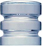 Contemporary Style Crystal Knob - CRL SDK406CR
