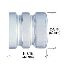 CRL UV Bond Contemporary Style Crystal Knob CRL SDK406CR