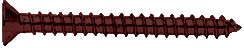 "Oil Rubbed Bronze #10 x 2"" Wall Mounting Flat Head Phillips Sheet Metal Screw - CRL P102ORB, Pack of 10"
