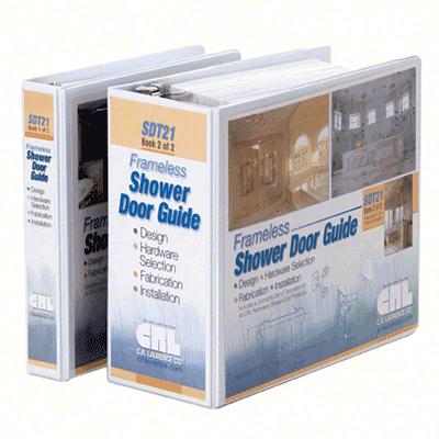 CRL SDT21 Frameless Shower Door Hardware Template Guide CRL SDT21