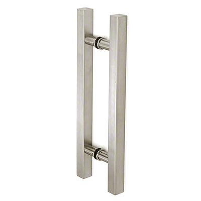 "Square Ladder Pull 6"" Back-to-Back CRL SLP6X6BN"