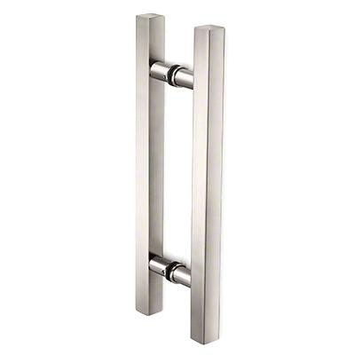 "Square Ladder Pull 6"" Back-to-Back CRL SLP6X6PN"