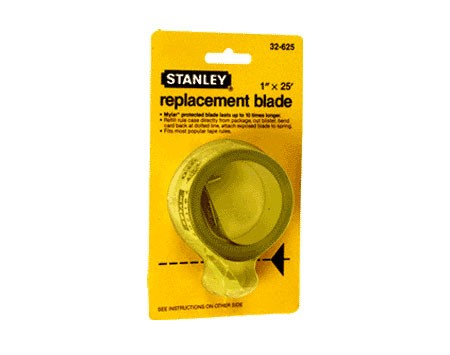 1 inch x 25 Foot Stanley Tape Measure Refil Blade - CRL ST32625