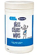 Sprayway Pre-Moistened Glass Cleaner Wipes - CRL SW95