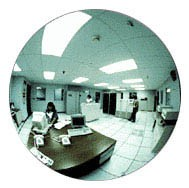 13 inch Diameter Indoor Acrylic Convex Mirror - CRL TPLX13