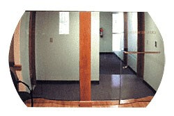 20 inch x 30 inch Diameter Indoor Acrylic Convex Mirror - CRL TPLX2030