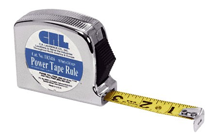 16 foot Power Tape Rule 3/4 inch Wide - CRL TR3416