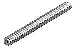 "CRL 3/8""-16 Stainless Steel Threaded Rod - 5"" CRL TR3816X5S"