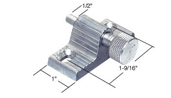 Zinc Twist-In Door Lock - CRL U9848