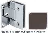Oil Rubbed Bronze Painted VAN Series with Square Edges Wall Mount with Offset Full Plate Hinge - VA782C-2_ORB