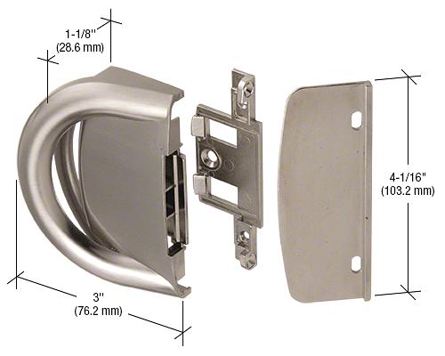 CRL Heavy-Duty Sash Lock and Keeper CRL WH35415