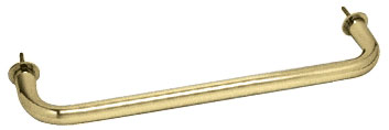 Brass Wall Mounted 12 inch Towel Bar - CRL WTB12BR