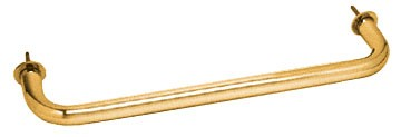 Gold Plated Wall Mounted 12 inch Towel Bar - CRL WTB12GP