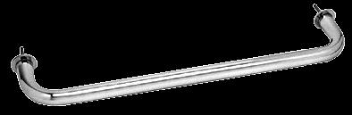 "CRL Polished Chrome 18"" Wall Mounted Towel Bar CRL WTB18CH"
