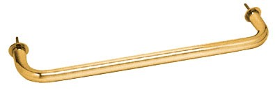 Gold Plated Wall Mounted 18 inch Towel Bar - CRL WTB18GP