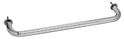 Satin Chrome Wall Mounted 18 inch Towel Bar - CRL WTB18SC