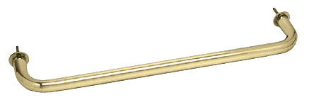 "CRL Polished Brass 24"" Wall Mounted Towel Bar CRL WTB24BR"
