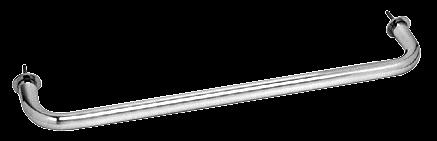 "CRL Polished Chrome 24"" Wall Mounted Towel Bar CRL WTB24CH"