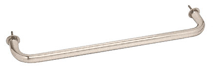 "CRL Satin Nickel 24"" Wall Mounted Towel Bar CRL WTB24SN"