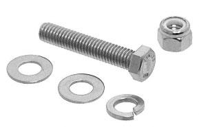 CRL Bolt Assembly For Aluminum Sunshades - AWS38BA